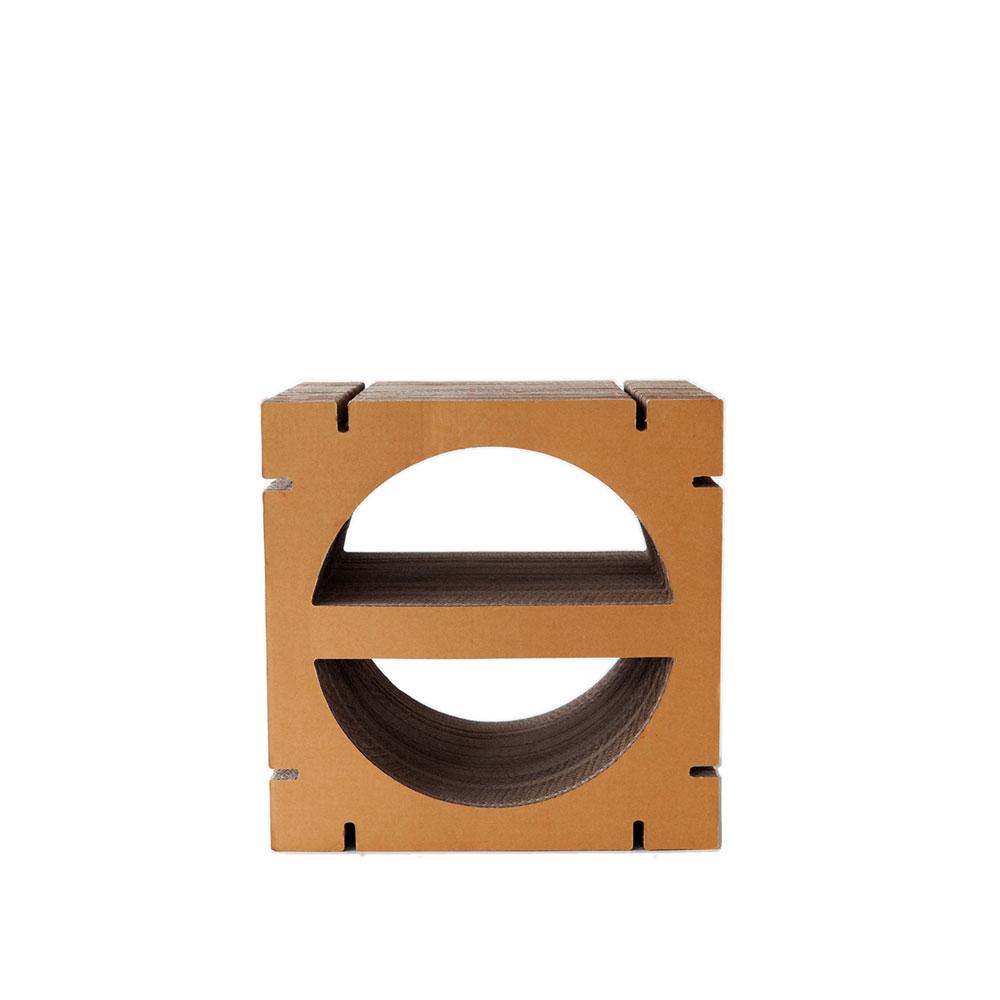 HOME Semi-Circle Shape S - Brown