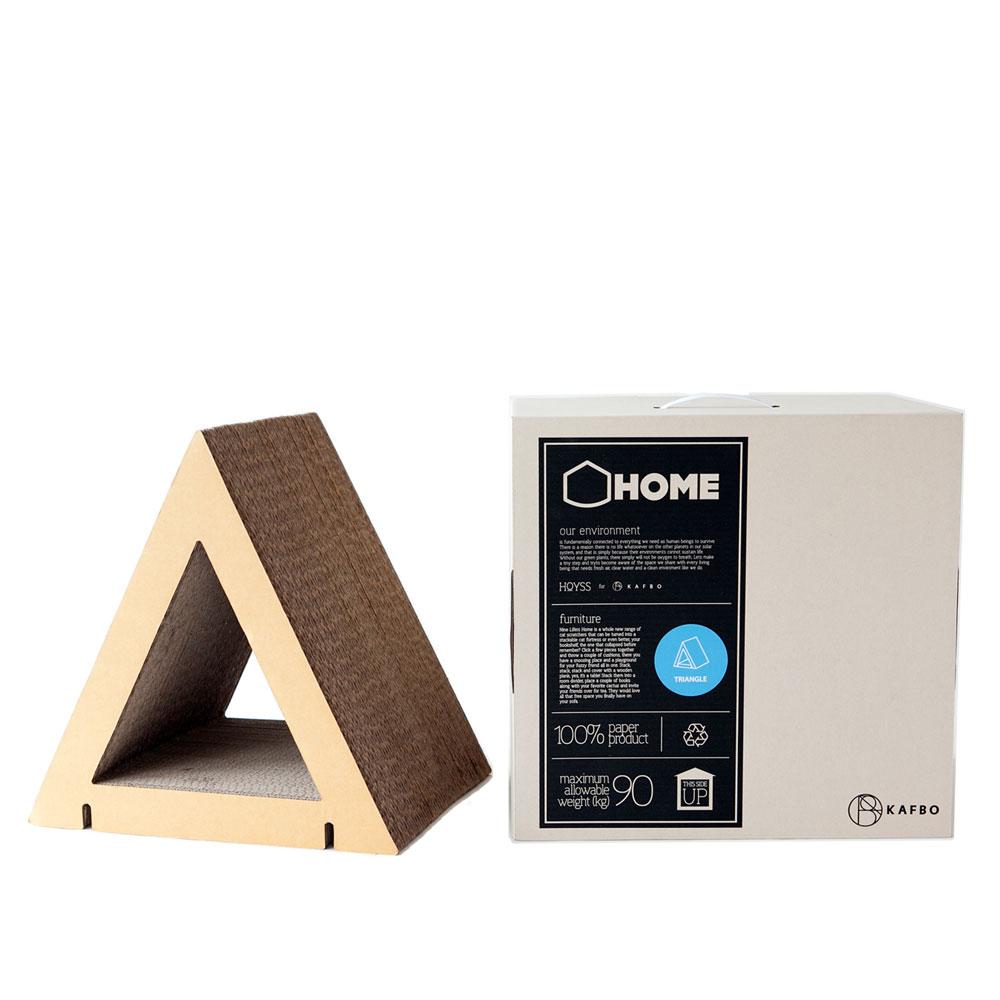 HOME Triangle Shape S - Brown