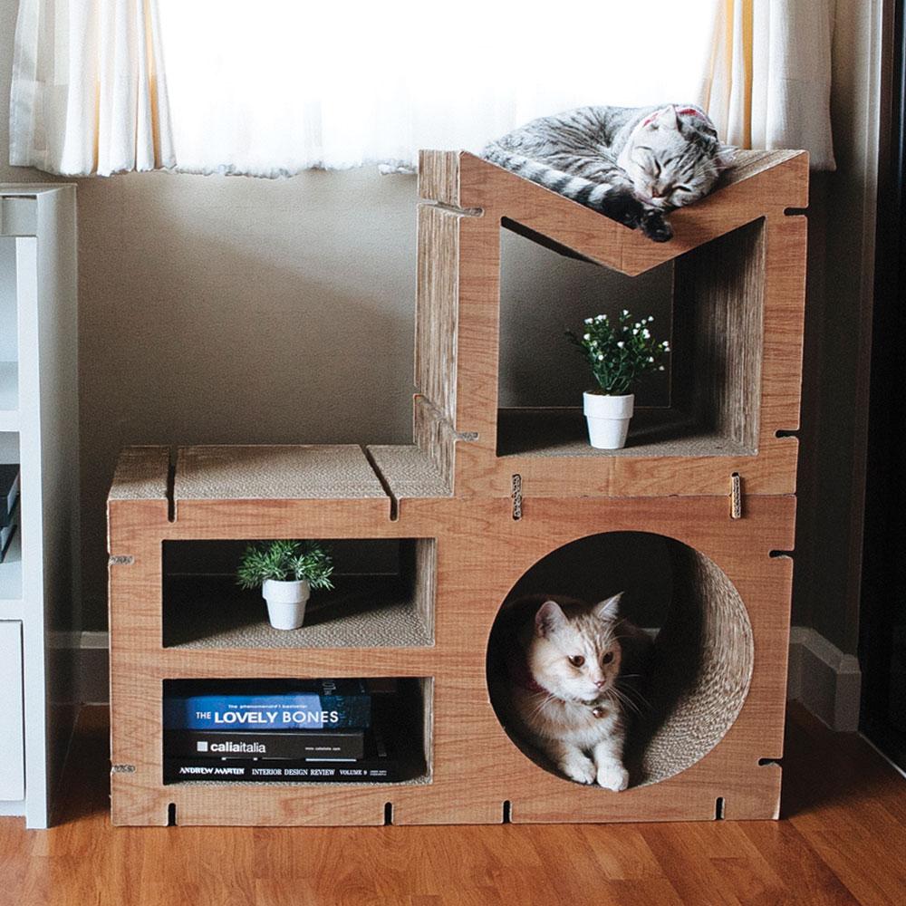 HOME 2 pcs Set - Walnut