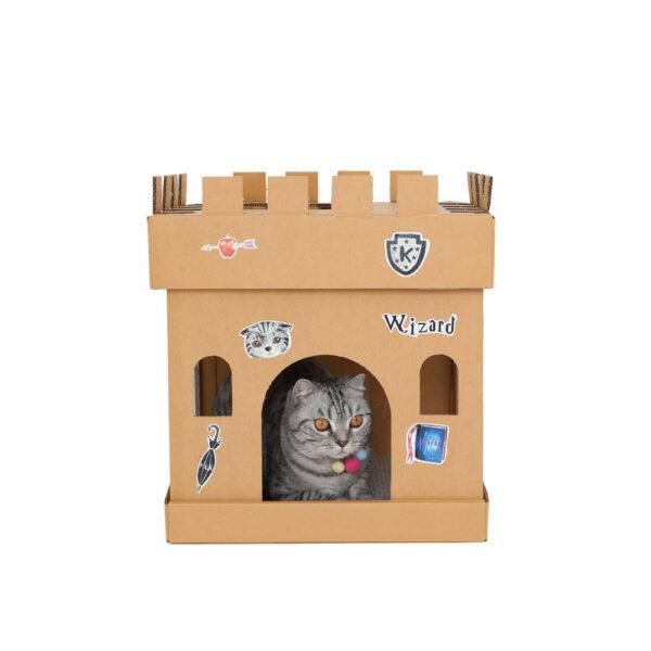 Castle Cube The Wizard Sticker (The Silver Cat)