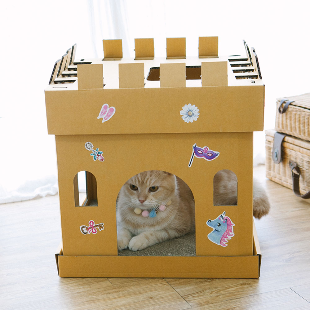 Castle Cube The Princess Sticker (The Ginger Cat)