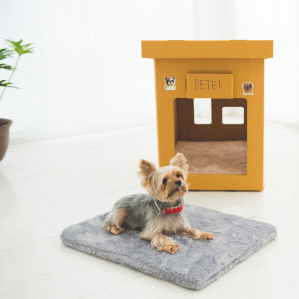 Dog Loft with GreyBed Pad