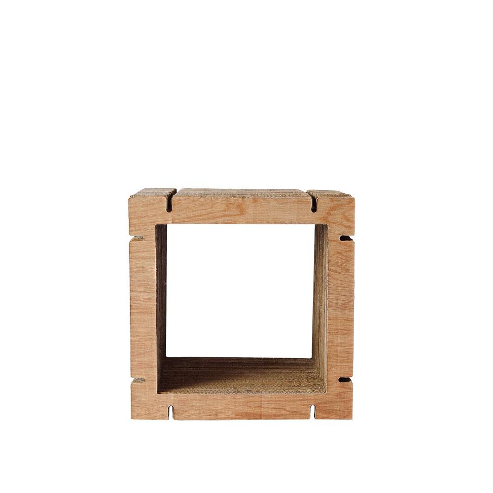 HOME Square Shape S - Walnut