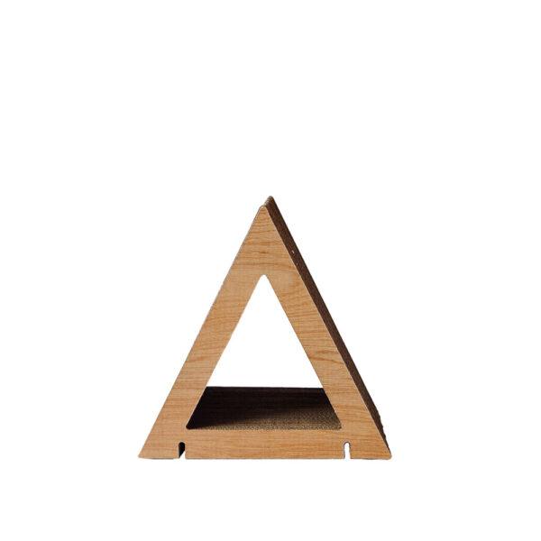 HOME Triangle Shape S - Walnut